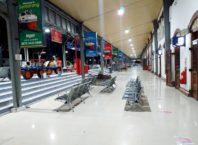 Stasiun Semarang Tawang saat ini sudah surut dan pelayanan di stasiun tersebut normal kembali-min