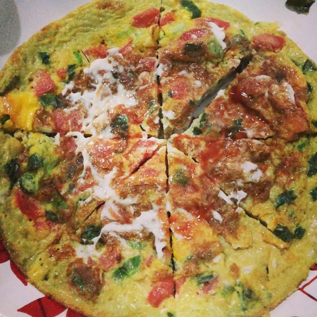 Telur Pizza, image by IG : @bubu_dapursimbok