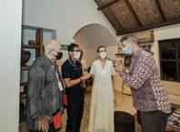 Menparekraf Bahas Persiapan Pemulihan Parekraf Bersama Pelaku Pariwisata di Bali