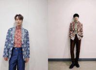 Yesung dan Leeteuk Super Junior Memakai Batik