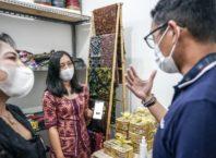 Menparekraf Temui Pelaku UMKM di Bali Bahas Strategi Pemulihan Sektor Ekraf