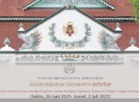 Penutupan Sementara Wisata Keraton Yogyakarta