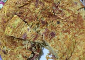 Resep omelet Mie Instan min