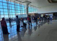 Antrian di Bandara YIA